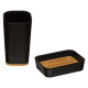 bathroom accessories black natureo, black