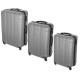 suitcase x3 gray, gray