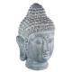 Boeddha hoofd 32x29x52, grijs