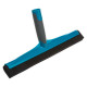 removable floor squeegee, blue