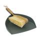 bamboe borstel schop, groen