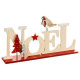 decoration wood letters christmas l22,5cm