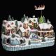 karácsonyi falusi vonat + enf + rénszarvas / m