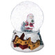 decoration ball snow Santa Claus music 100mm, 2-fo