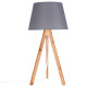 bahi lamp gray h55, gray
