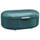 lata de pan de metal turq rc, azul