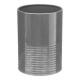 pot ust / aftappen metaal grijs rc, grijs