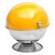 stainless steel sugar bowl yellow rc, yellow