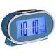 alarm clock plast lcd 11x7.8, 4- times assorted ,