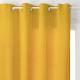 rideau lilou ocre 140x260, jaune