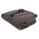 plaid tassels gf 125x150, dark gray
