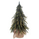 sztuczna gałąź drzewa zielona podstawa 27cm