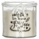 scented candle vr Maya 260g, 2- times assorted , b