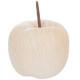 pomme ceram effet bois d9,5x8, beige moyen