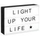 magnetic light box a6, black & white
