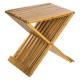 opvouwbare bamboe stoel
