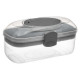 gray, gray storage case