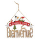 christmas decoration wood sign jn l29cm