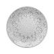 plato postre hacienda gris 21.5cm