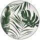 Borden platte palm groen 26cm