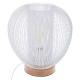 lampa metalowa biały drut h27, biały