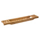 bandeja de baño de bambú