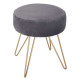 metal stool m1920 gray, dark gray