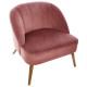 roze naova fauteuil, roze