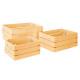 caja cajón sueño amarillo x3, amarillo