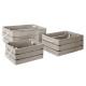 caja caja caja sueño gris x3, gris