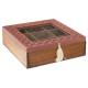 Caja del x9 comp living, 2 veces surtido , colores