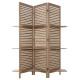paravent 3 etageres bois, sans couleur