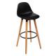 chaise bar polypropylene maxon nr, noir
