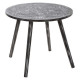 mandala coffee table, black