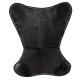 black dario leather cover, black