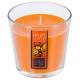 vela perfumada vr fr exo nina 250 g, naranja