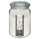 bougie parfumées verre nina box 510g, 4-fois assor