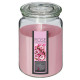 scented candle vr pink 510g, light pink
