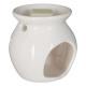 scented burner + jasmine wax 30g, white
