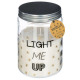scented candle vr vanil zoey 410g, white