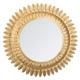 Metallspiegel Blattgold d70, Gold