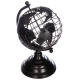 Globus Metall h.25, schwarz