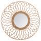 Rotan spiegelrozet d58, medium beige