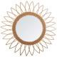 spiegel rotan spitse vloer d50, medium beige