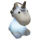 unicorn led night light, 2- times assorted , color