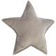 Pillow star gray, gray