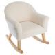 schommelstoel moumoutte, wit