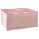 recipiente de almacenamiento x2 estrellas rosas, r