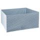 bandeja de almacenamiento x2 líneas azules, azul
