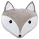 Pillow head fox, gray
